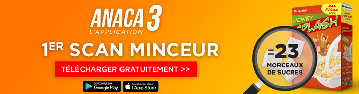 Application Anaca3 1er scan minceur