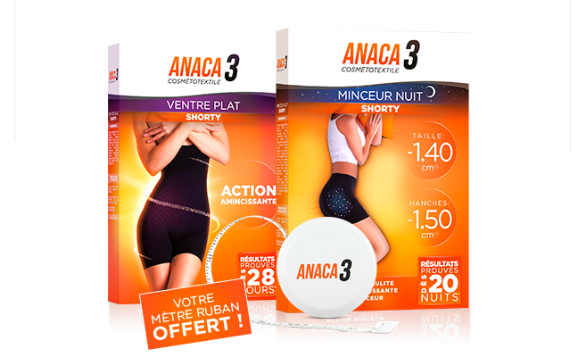Anaca3 Pack Le Duo Shorty