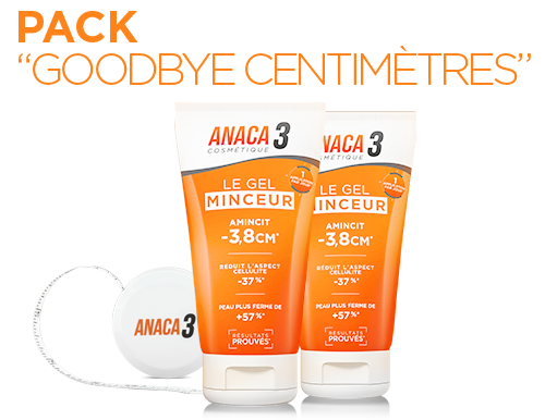 Anaca 3 Pack Goodbye Centimètres