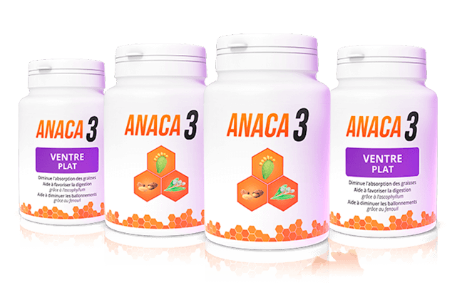 Anaca3 Pack Objectif Ventre plat