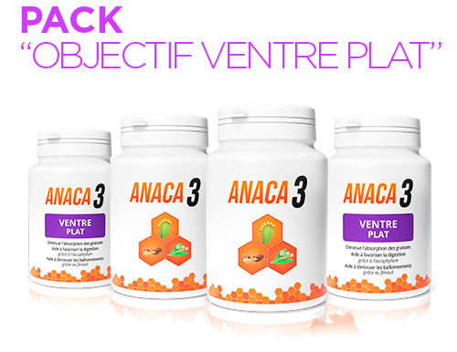 Anaca 3 Pack Objectif Ventre plat