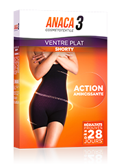 Anaca 3 Shorty ventre plat